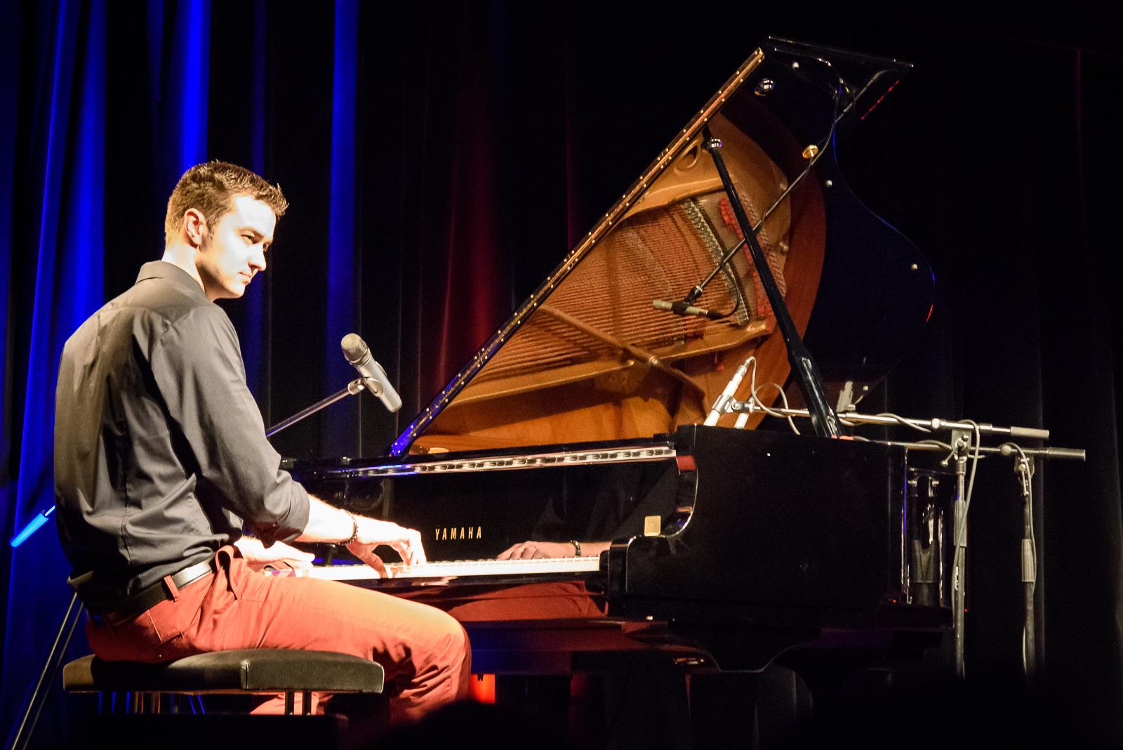 Pianist Torben Beerboom in der Kaue Gelsenkirchen beim Konzert